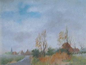 Peinture à l'huile de la flandre