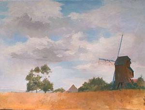 Peinture à l'huile de Sprey