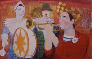 Peinture de clowns