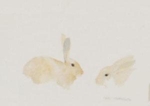 Aquarelle de lapins