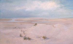 Peinture à l'huile de la maree basse